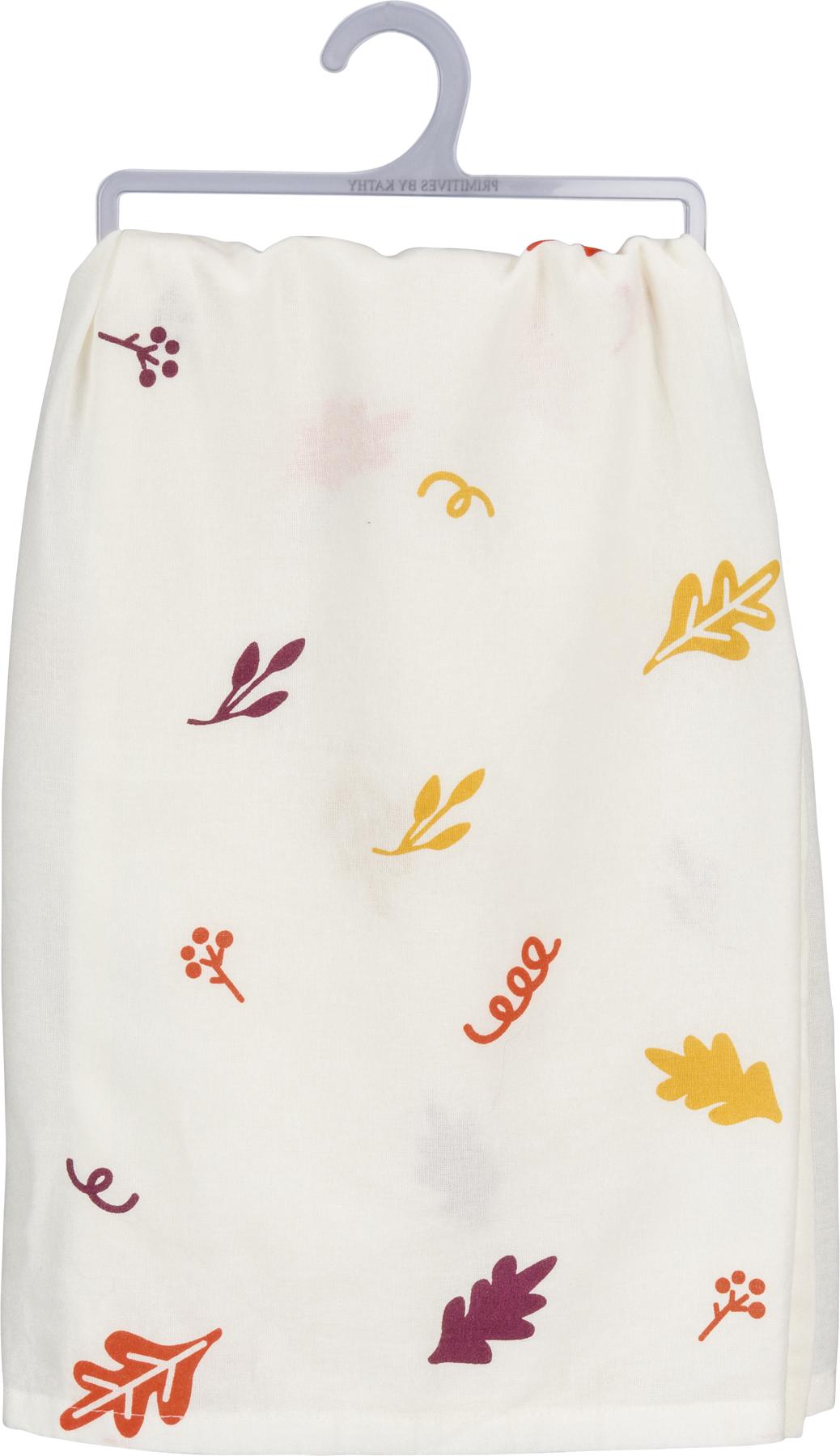 Happy Fall Yall Tea Towel