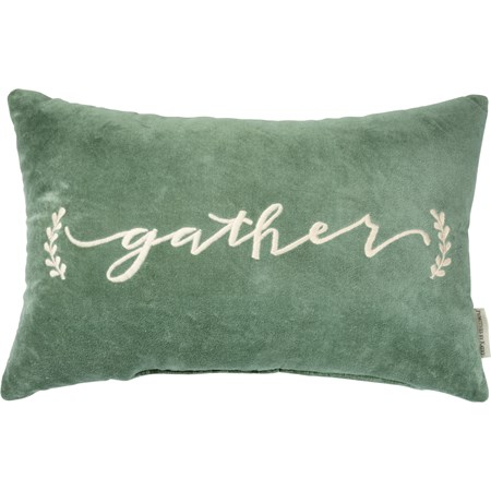 "Pillow - Gather - 19"" x 12.50"" - Velvet"