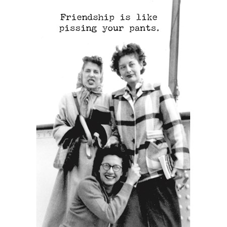 "Greeting Card - Friendship - 4.75"" x 7"" - Paper"