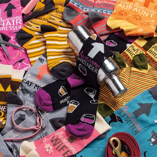 Awesome Socks Collection by Johnny - Primitives by Kathy