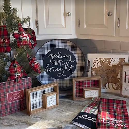 Christmas Plaid Collection by Phil Chapman