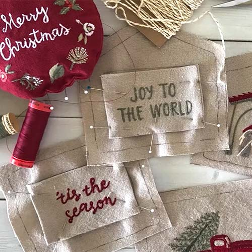 Christmastime Fresh Linen Collection by Cathy Heck Studio - Primitives by Kathy