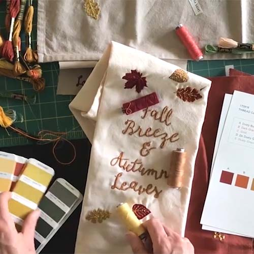 Fall Fresh Linen Collection by Cathy Heck Studio - Primitives by Kathy