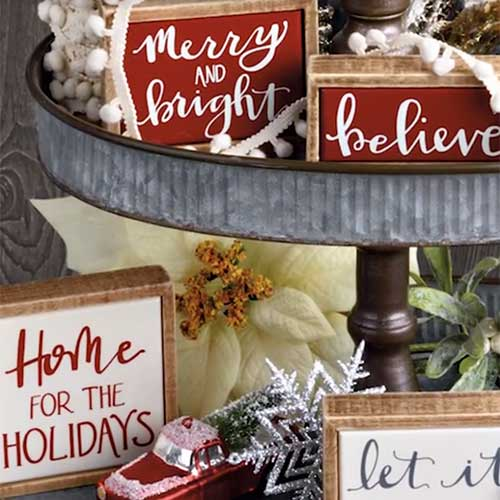 Farmhouse Christmas Collection by Phil Chapman