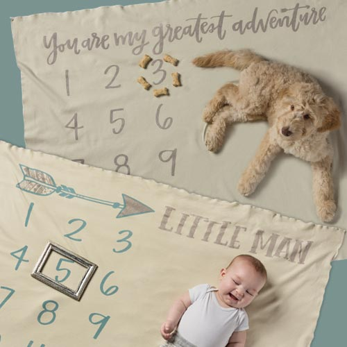 Milestone Blankets Collection by Caitlin Bristow
