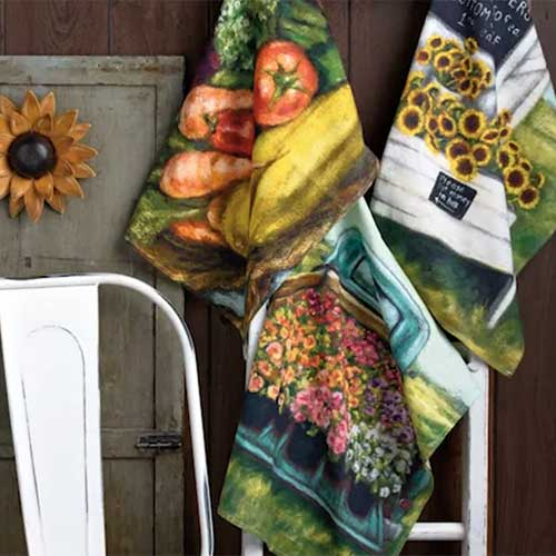 Painted Farm Stand Collection by Michele Kixmiller