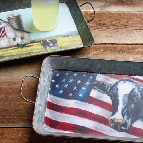 Painted Patriotic Collection by Michele Kixmiller