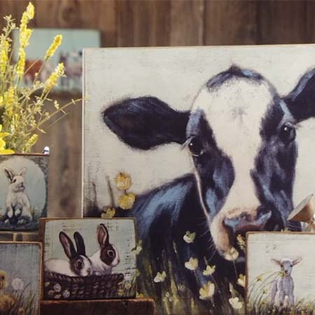 Farm Friend Collection - Primitives by Kathy