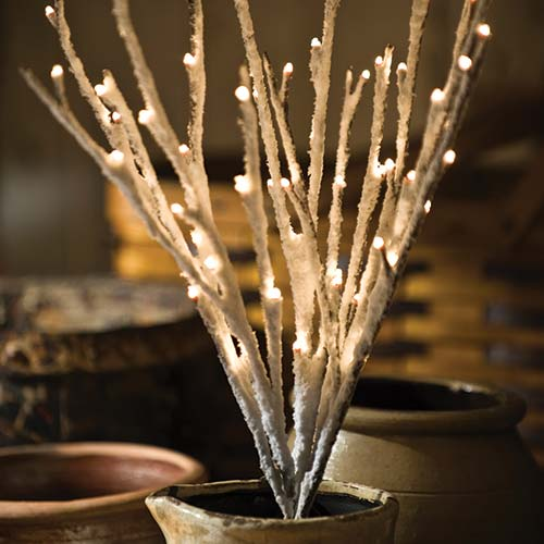 Wire & Twig Lights Collection - Primitives by Kathy
